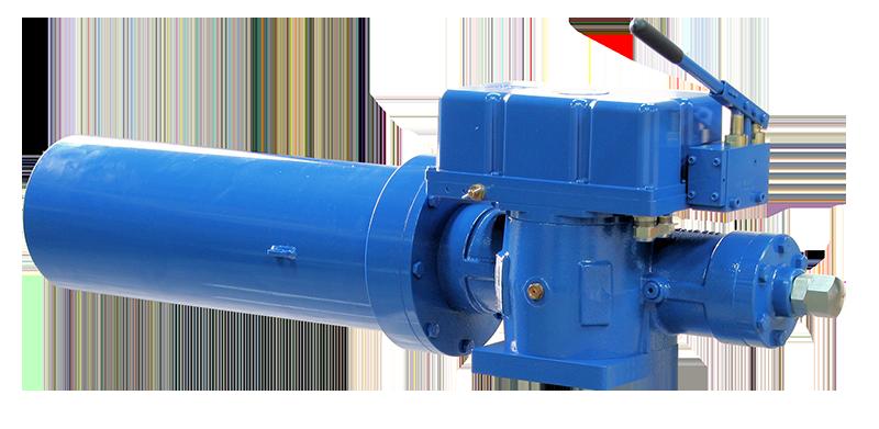 elektro hydraulischer antrieb federschließend esd fail safe