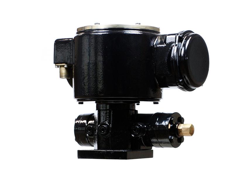 elektro hydraulischer antrieb unter medium submerged