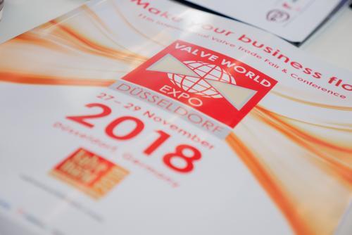 Pleiger at Valve World Düsseldorf 2018